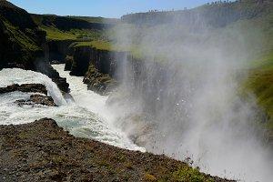 Powerful waterfall