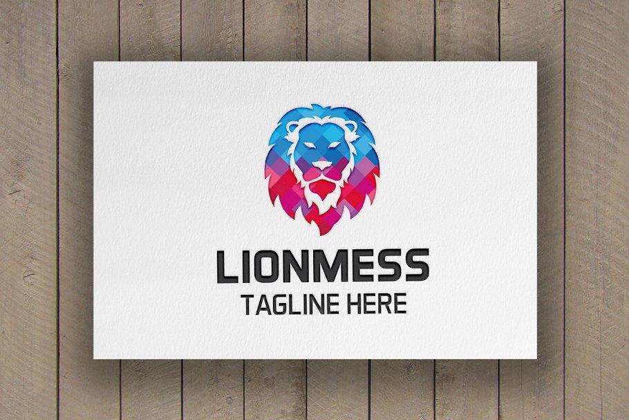 Lion Mess Logo