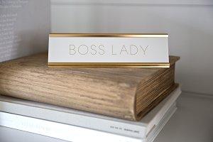 Boss Lady Stock Photo