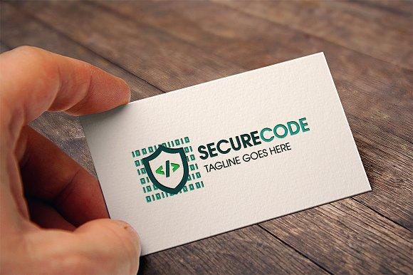 Secure Code Logo