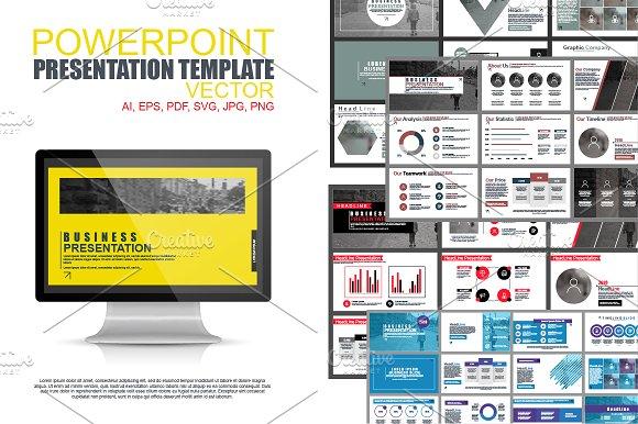 Powerpoint Presentation Tem-Graphicriver中文最全的素材分享平台