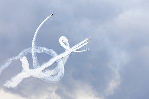 planes acrobatic show