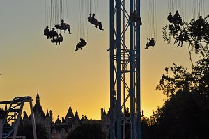 Silhouette Swings