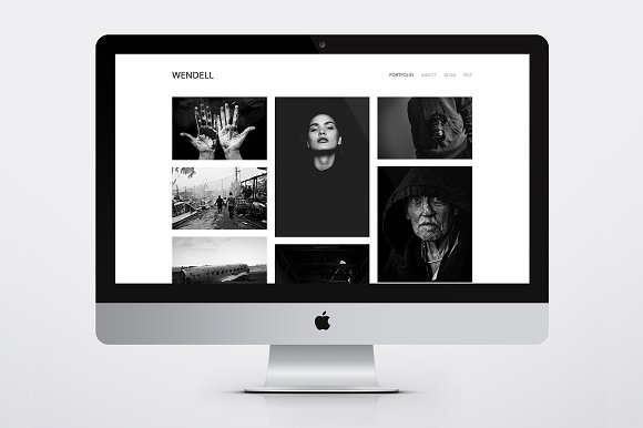 Wendell - Portfolio WordPress Theme