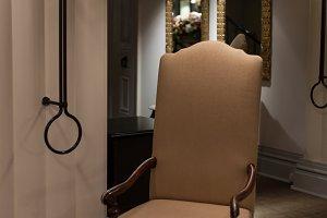 Tall chair.