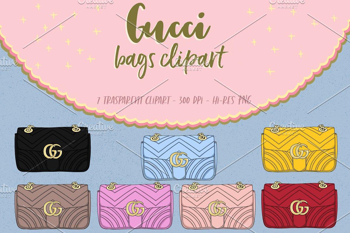 67bb58e80b5 Bags clipart ~ Illustrations ~ Creative Market