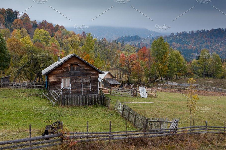 wooden farmhouse nature photos creative market