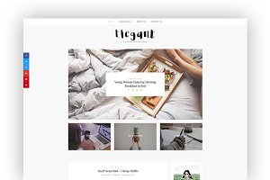 Elegant - Minimal WordPress Blog