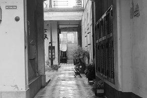 Ancient Vintage Corridor