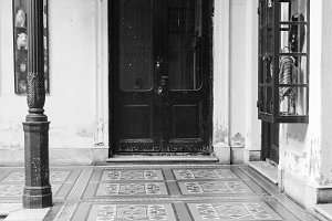 Vintage Patio Ancient Door