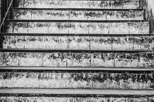 Ancient Stairs Detail