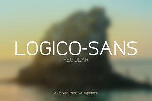 Logico-Sans Font - Regular