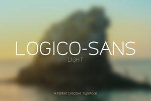 Logico-Sans Font - Light