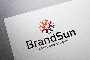 Brand Sun Logo