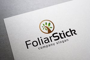 Foliar Stick Logo