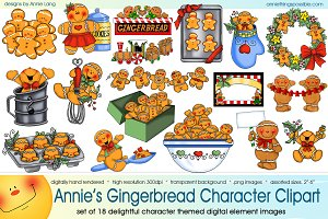Annie's Gingerbread Characters