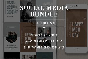 Social Media Template Bundle