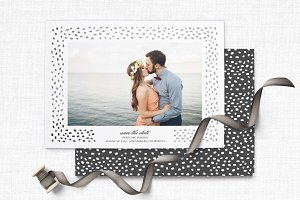 Trendy Save the Date Template