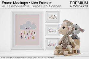 Frames - Kids Mockups