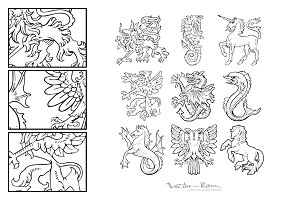 Heraldic Monsters Vol. I
