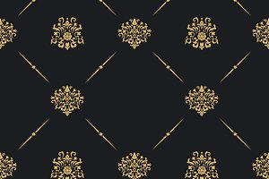 Seamless vintage pattern decor