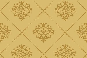 Vintage royal wallpaper seamless