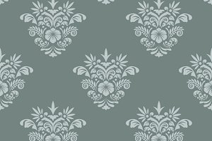 Royal seamless background baroque