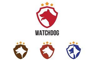 4 Watchdog Dog Shield with Star
