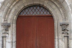 Chartres door