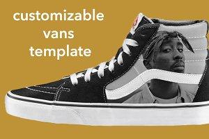 Vans Shoe Mockup