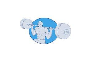 Strongman Powerlifting Barbell