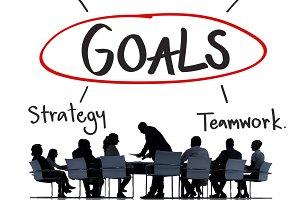 Goals Business Brand Launch