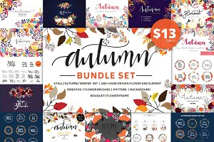 Fall / Autumn Big Bundle Set
