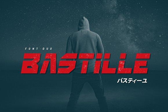 Bastille in Display Fonts