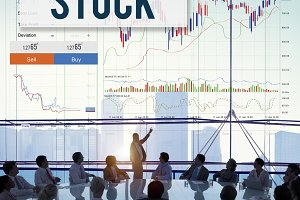 Stock Exchange Trading Finance