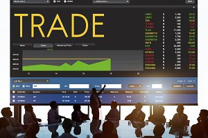 Stock Exchange Trading Forex Finance