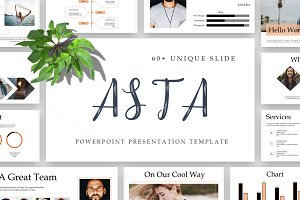 ASTA Powerpoint Template 50% Off!