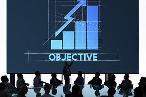 Objective Business Growth Graph