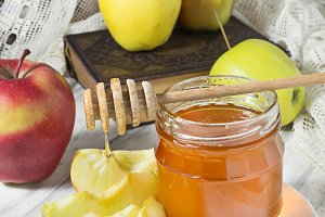 Rosh Hashana jewish New Year, honey