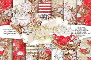 Gingerbread Cookies Christmas design