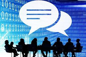 Chat Speech Bubble Communication