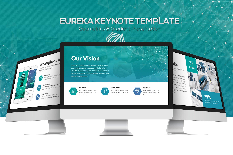 Eureka Keynote Template ~ Presentation Templates ~ Creative Market