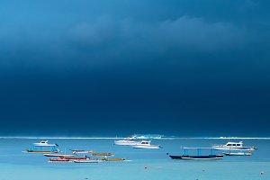 fisher boats. bali, Indonesia
