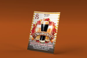 Oktoberfest Photoshop Flyer Template