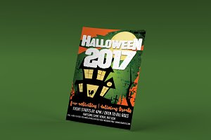 Halloween 2017 PSD Flyer Template
