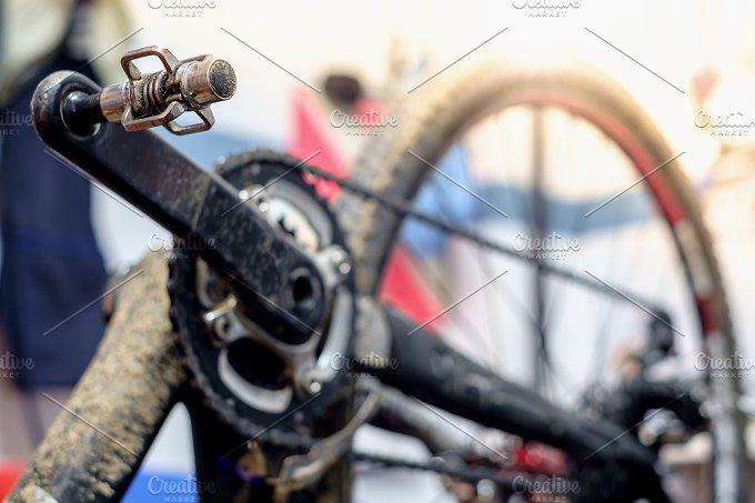 Bike workshop. Repair process - Sports
