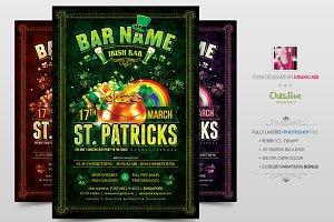Saint Patricks Poster | Flyer