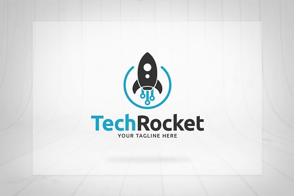 Tech Rocket Logo