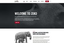 Zeko - Non-Profit WordPress Theme by  in Non-Profit