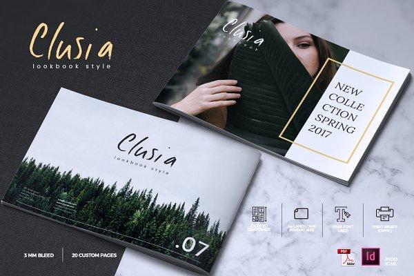CLUSIA - Lookbook Brochure Catalogu…
